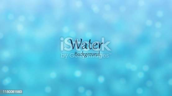 Water Bubble Background