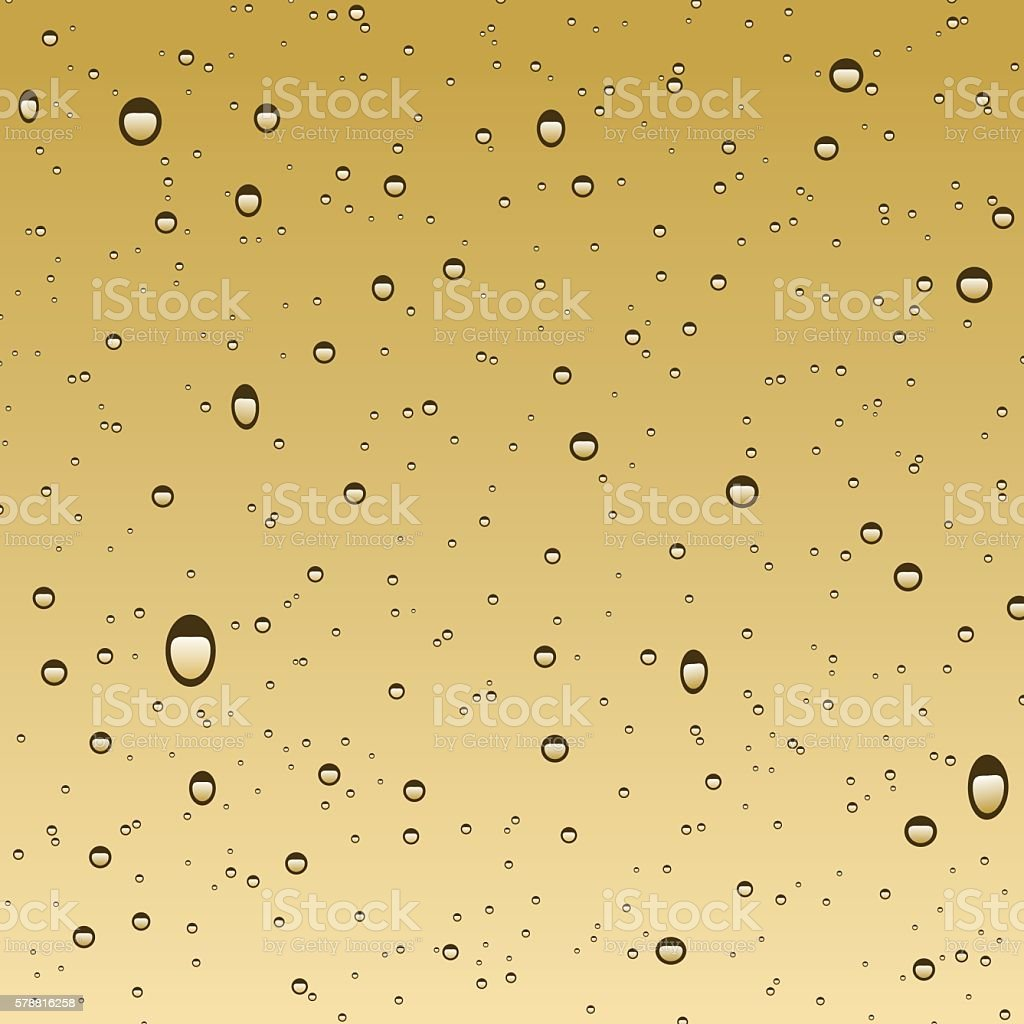 Water Bubbles vector art illustration