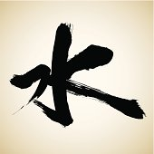 Water | Chinese Calligraphy Series