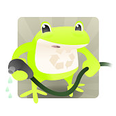 Water Conservation Frog