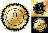 istock Water Drop and Beaker Icon 1275144153