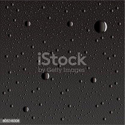 istock Water Drop Seamless 805246308