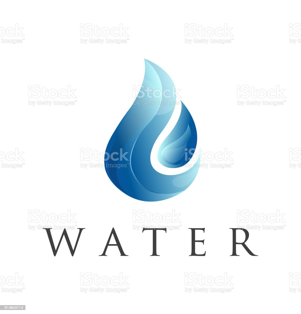 Water drop symbol design vector template natural mineral aqua icon water drop symbol design vector template natural mineral aqua icon waterdrop liquid symboltype concept biocorpaavc Image collections