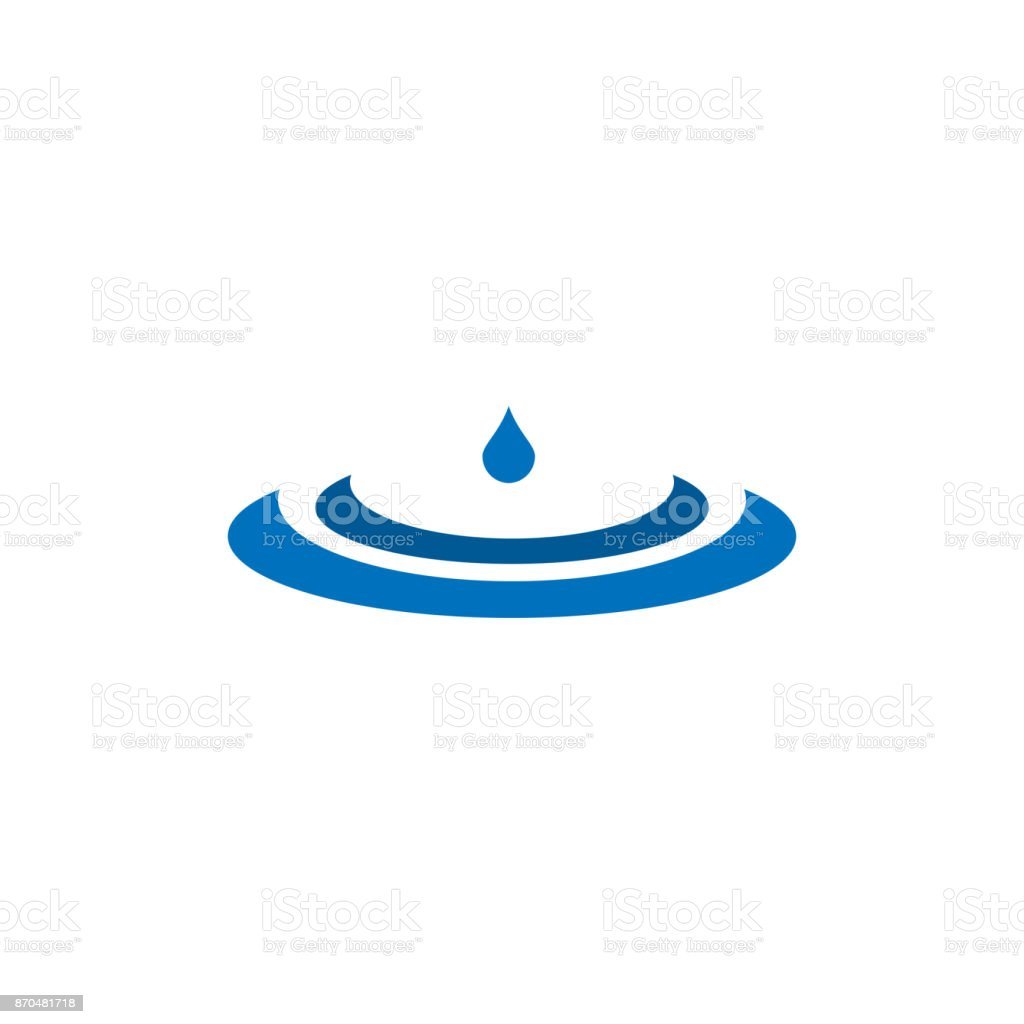 water drop template design for business company stock vector art