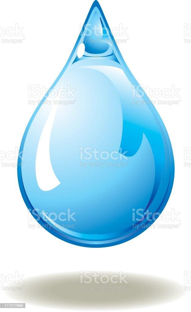 water drop vector art illustration