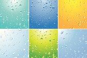 Water, Drop, Dew & Bubble