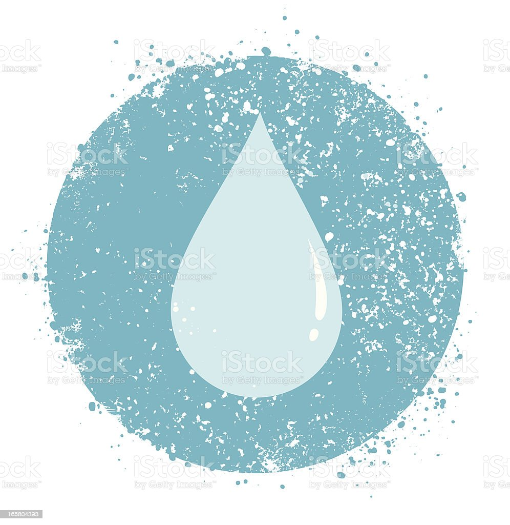 Water drop royalty-free water drop stock vector art & more images of acrylic painting