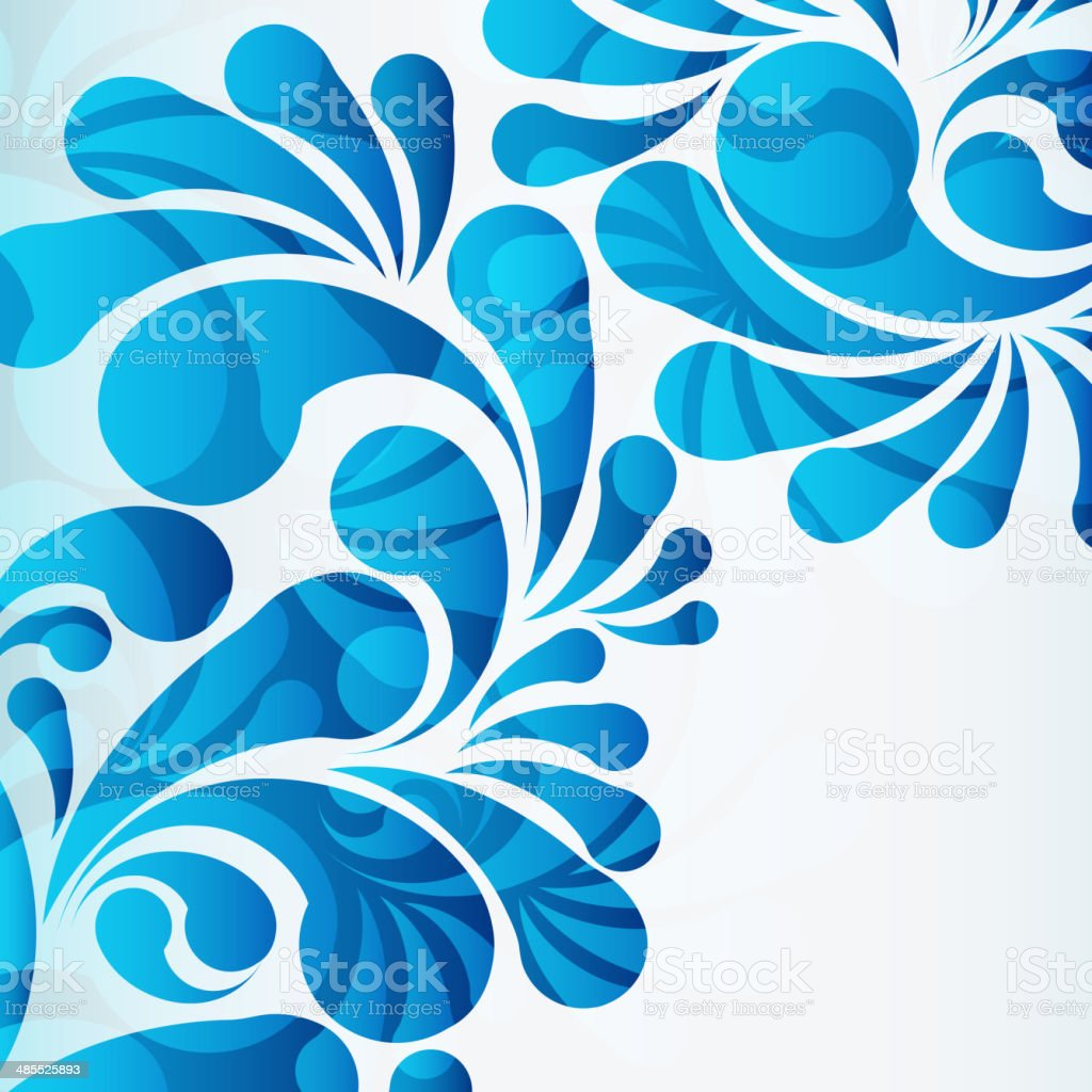 water drops background vector art illustration