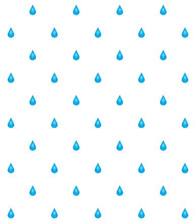 Water drops pattern stock illustration