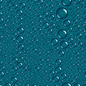 Water drops seamless vector background