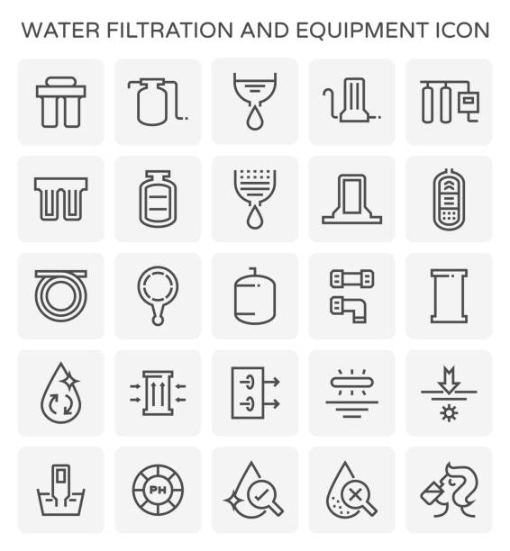 Royalty Free Water Filter Clip Art Vector Images Illustrations