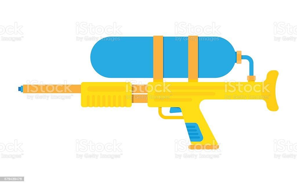 royalty free water gun clip art vector images illustrations istock rh istockphoto com clip art guns free clip art guns free