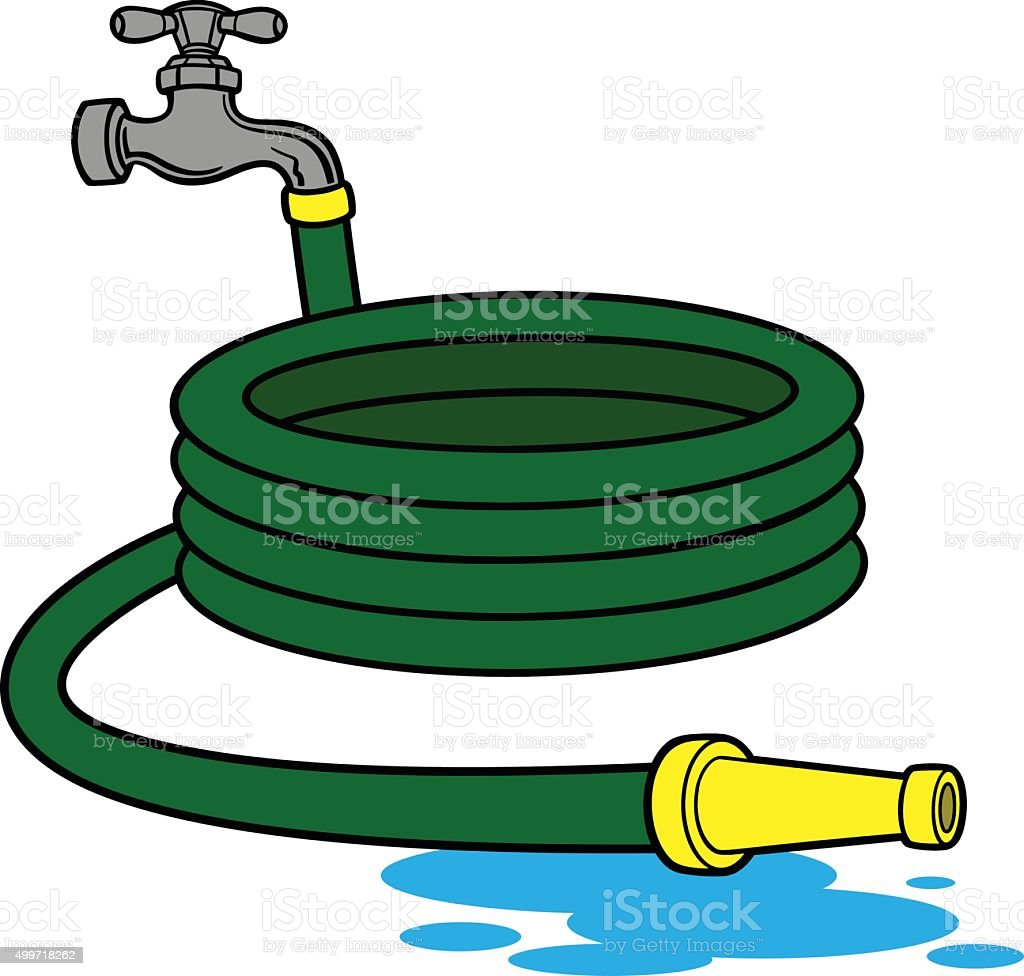 royalty free water hose clip art vector images illustrations istock rh istockphoto com fire hose reel clipart fire hose clipart png