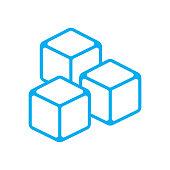 istock water ice cube icon vector 1298280505