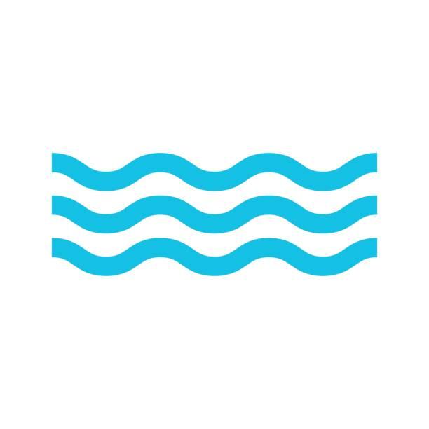 ilustraciones, imágenes clip art, dibujos animados e iconos de stock de vector aislado de agua icono - lago