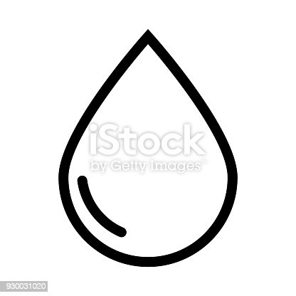 Water Icon Vector Illustration Stock Vector Art More Images Of