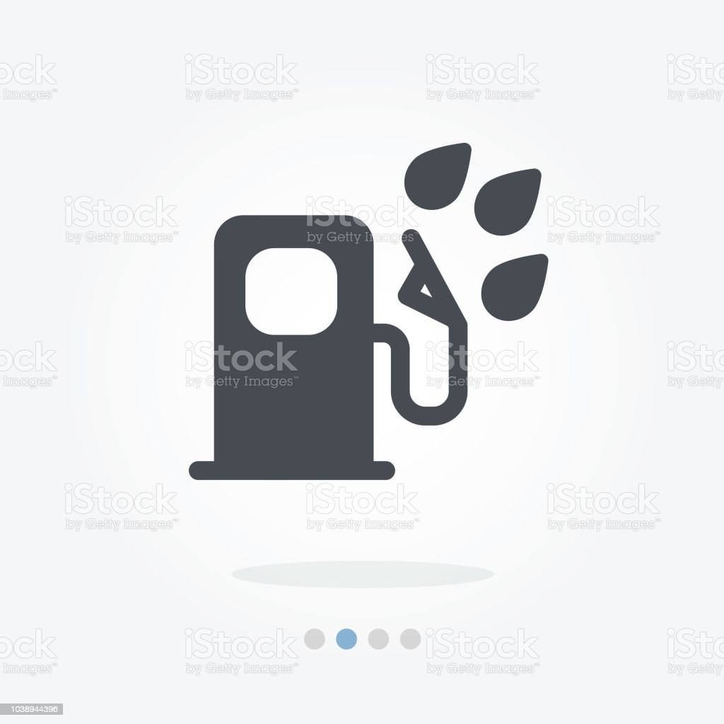 Water In Fuel Filter Vector Icon Stock Art More Images Of Case Filters Royalty Free