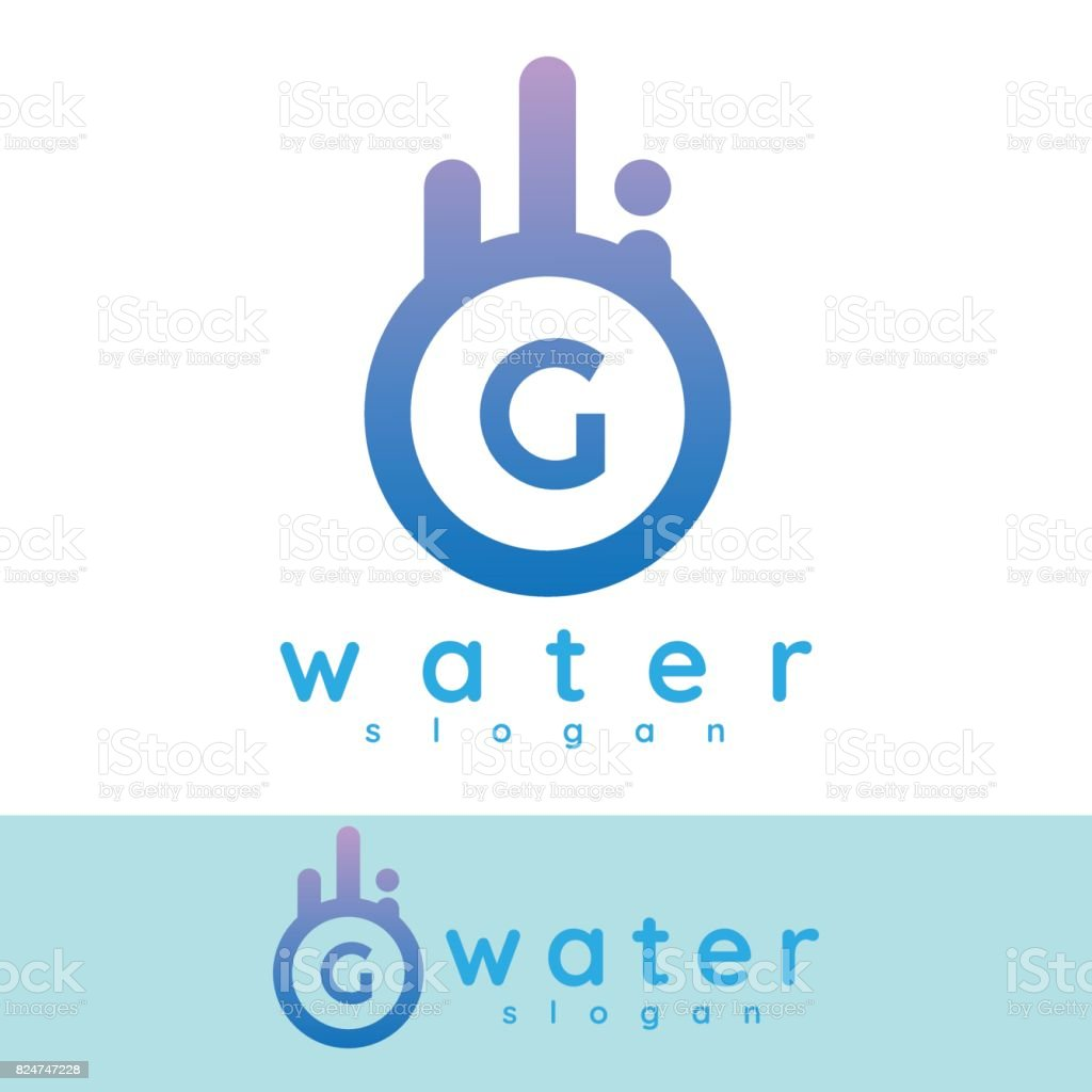 Water initial letter g icon design stock vector art more images of water initial letter g icon design royalty free water initial letter g icon design stock altavistaventures Images