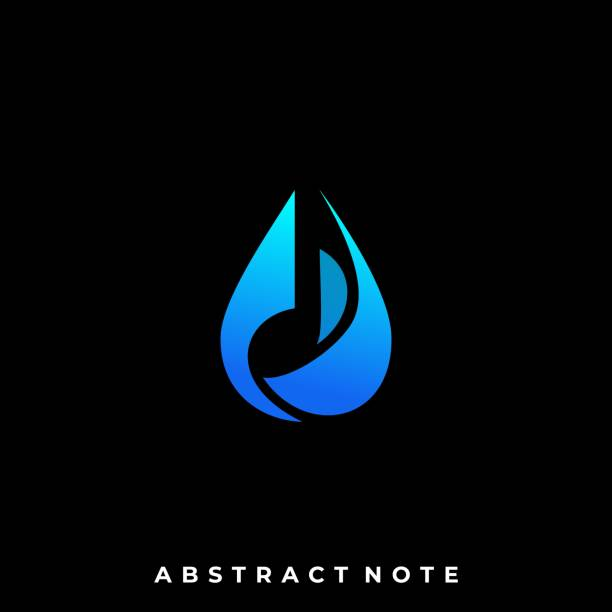 Water Music Illustration Vector Template Water Music Illustration Vector Template. Suitable for Creative Industry, Multimedia, entertainment, Educations, Shop, and any related business. macrophotography stock illustrations