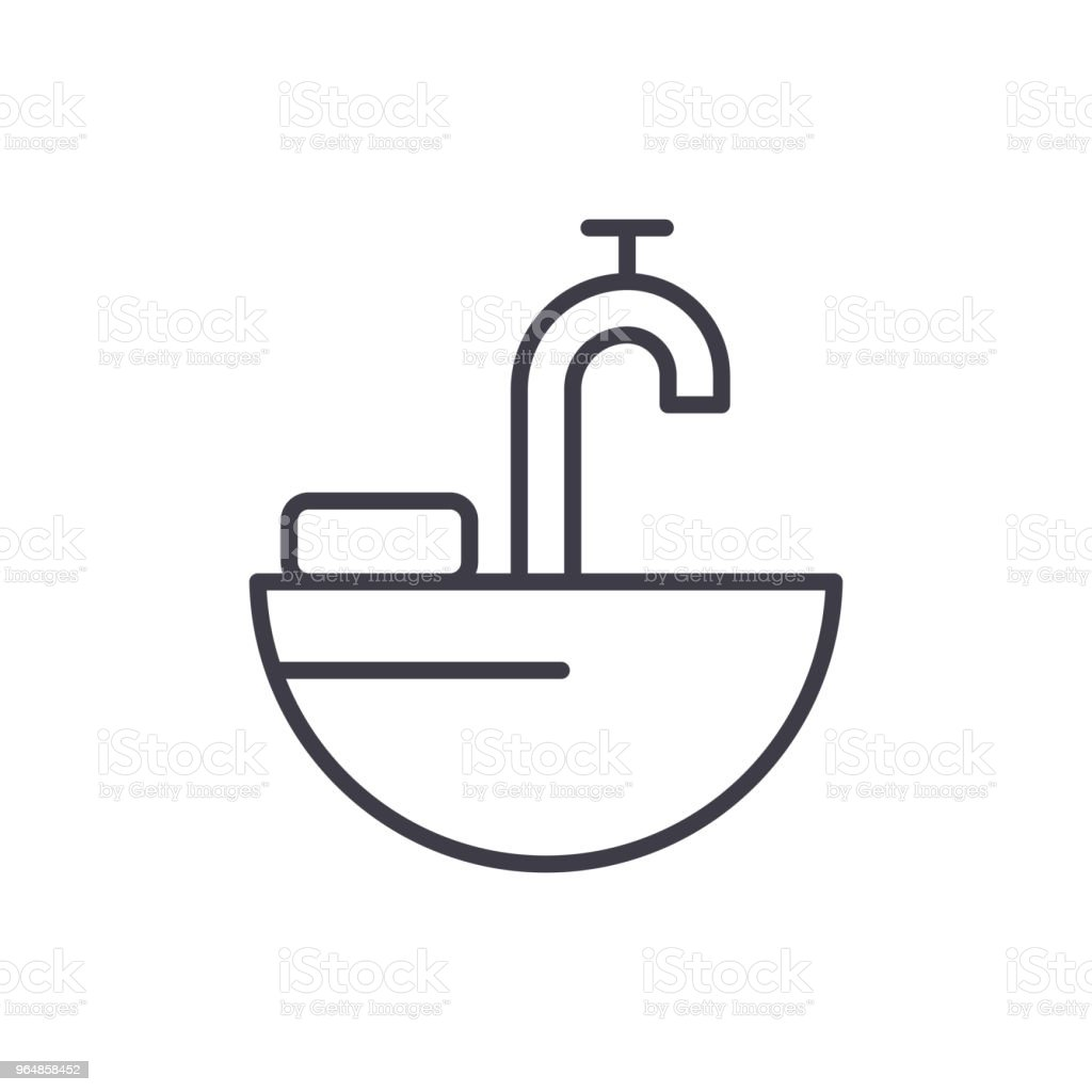 Water pipes black icon concept. Water pipes flat  vector symbol, sign, illustration. royalty-free water pipes black icon concept water pipes flat vector symbol sign illustration stock vector art & more images of backgrounds