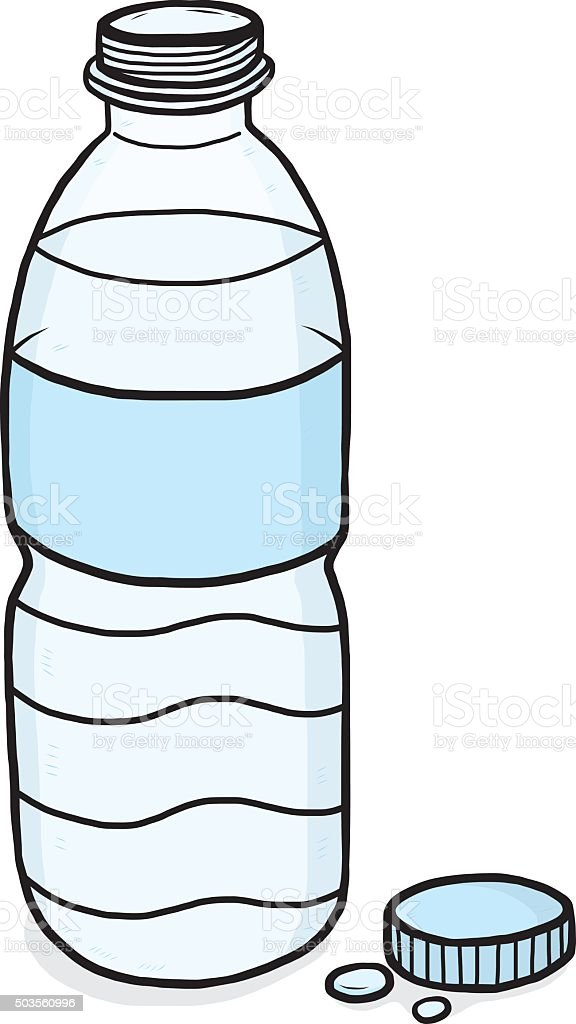 royalty free open plastic bottle clip art vector images rh istockphoto com bottle clipart images clipart bottle of water