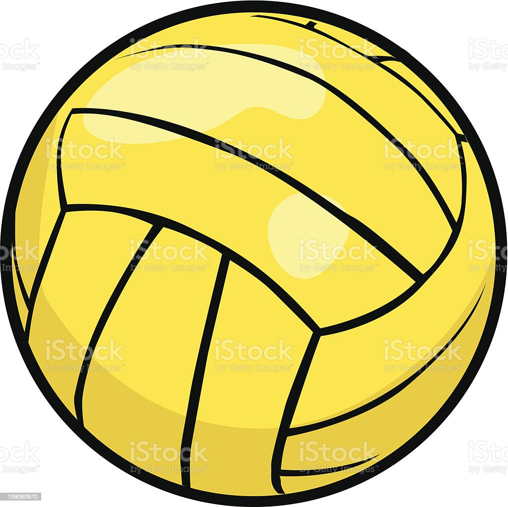 water polo ball stock vector art more images of ball 159060870 rh istockphoto com