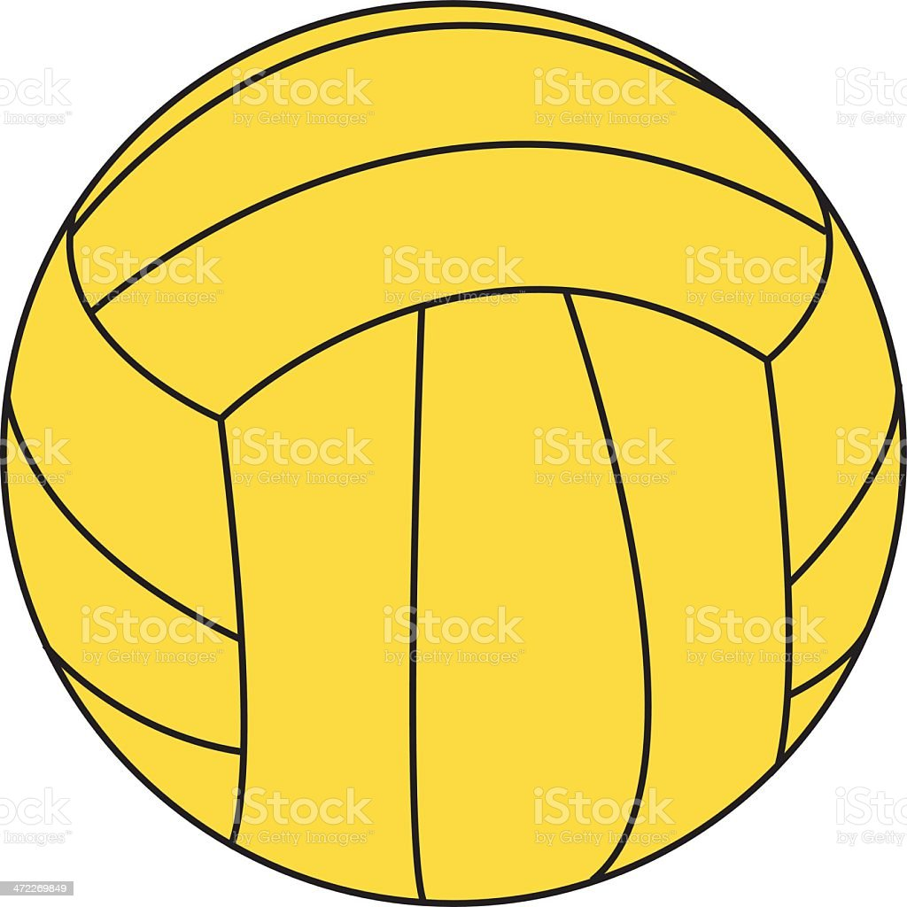 water polo ball stock vector art more images of ball 472269849 rh istockphoto com