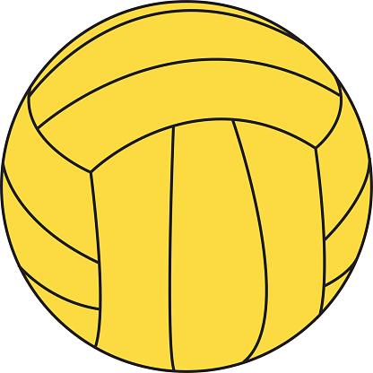 Water Polo Ball (vector)