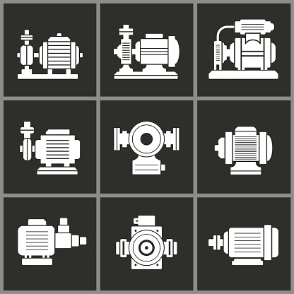 Water pump icon