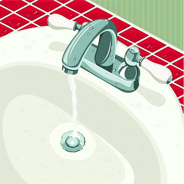 洗面台 イラスト素材 Istock
