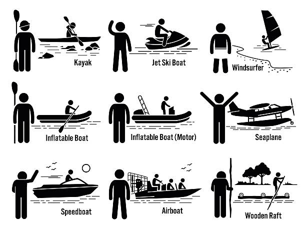 Best Speed Boat Illustrations, Royalty-Free Vector