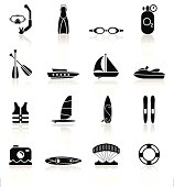 Water Sports Equipment - Simple Collection