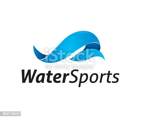 water, wave, sports, icon