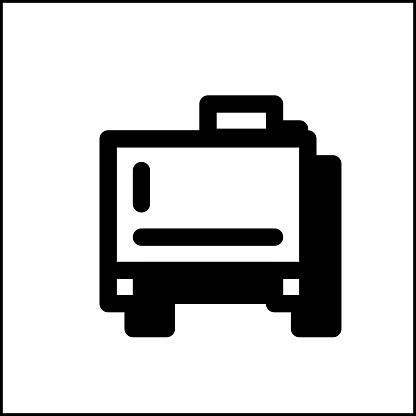Water storage icon in flat design 05