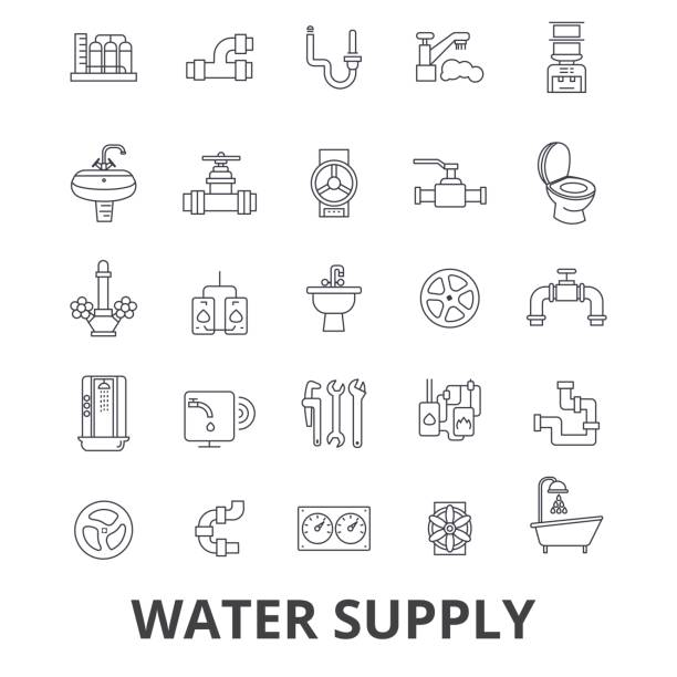 Royalty Free Water Valve Clip Art Vector Images Illustrations