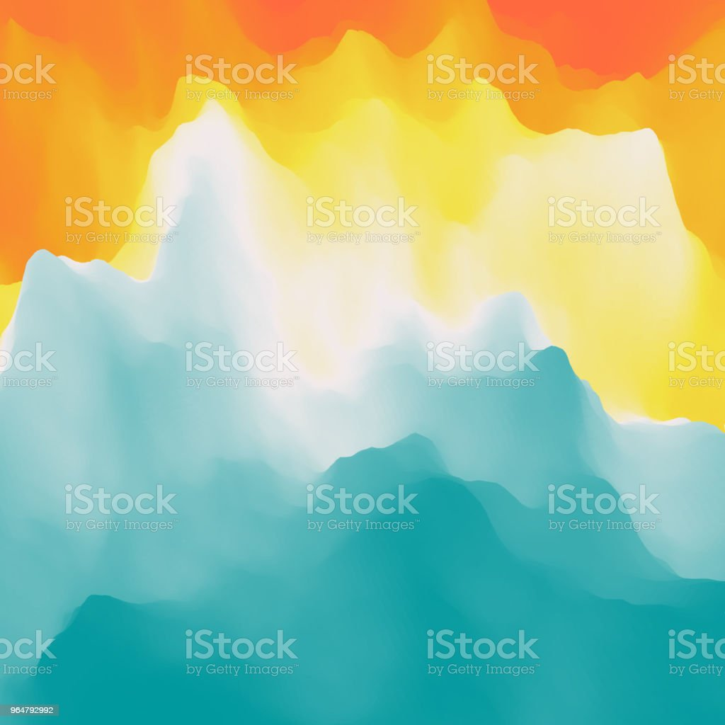 Water Surface. Nature background. Modern pattern. Vector Illustration For Your Design. royalty-free water surface nature background modern pattern vector illustration for your design stock vector art & more images of abstract