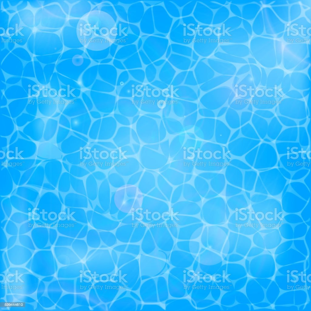 Water texture background vector art illustration