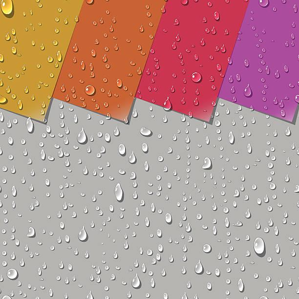 水の透明滴シームレスなパターン - ガラスのテクスチャ点のイラスト素材/クリップアート素材/マンガ素材/アイコン素材