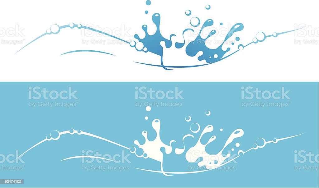 Wasser – Vektorgrafik
