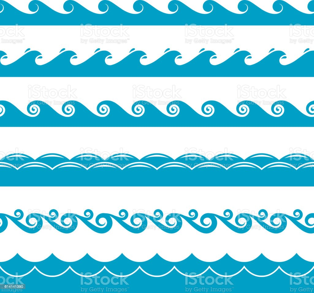 Waves Vector Images (over )