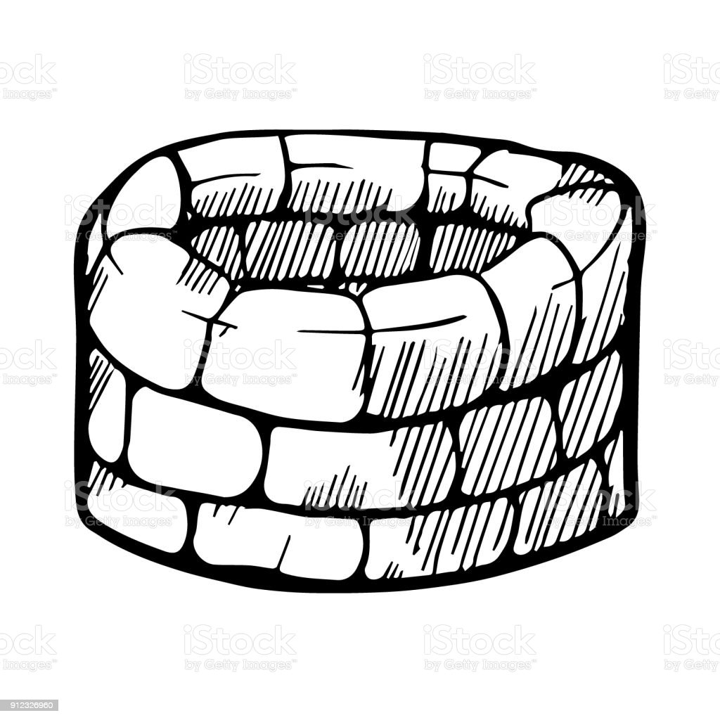 royalty free stone wishing well clip art vector images rh istockphoto com get well clip art small get well clipart
