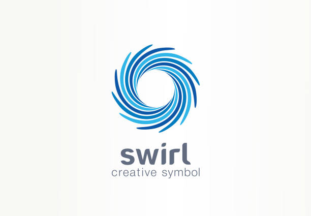 Water whirlpool, aqua, creative symbol concept. Blue swirl, clear spiral mix, spa abstract business idea. Clean sea, ocean, pool icon Water whirlpool, aqua, creative symbol concept. Blue swirl, clear spiral mix, spa abstract business idea. Clean sea, ocean, pool icon. Graphic design tamplate wind stock illustrations