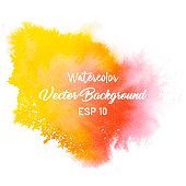 A vector illustration of watercolor paint.