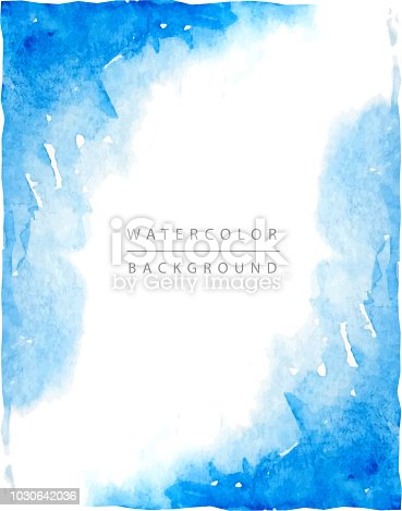 watercolor frame design border painted