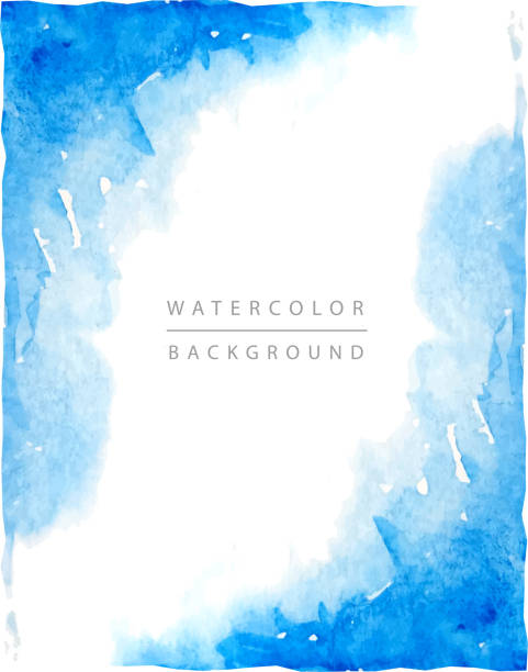 watercolor background - watercolor background stock illustrations, clip art, cartoons, & icons