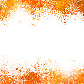 A vector illustration of a watercolor background splat.