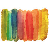 Vector illustration of a watercolor painting background with a nice textured paper effect