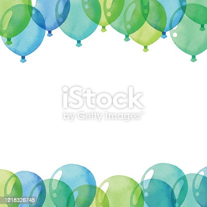Vector illustration of Balloon background.