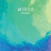 A vector illustration background made with watercolor paint.