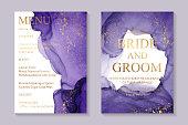 Modern watercolor background or elegant card design for birthday invite or wedding or menu.